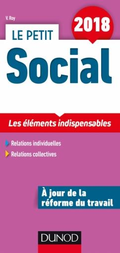 LE PETIT SOCIAL 2018   13E ED.   LES ELEMENTS INDISPENSABLES